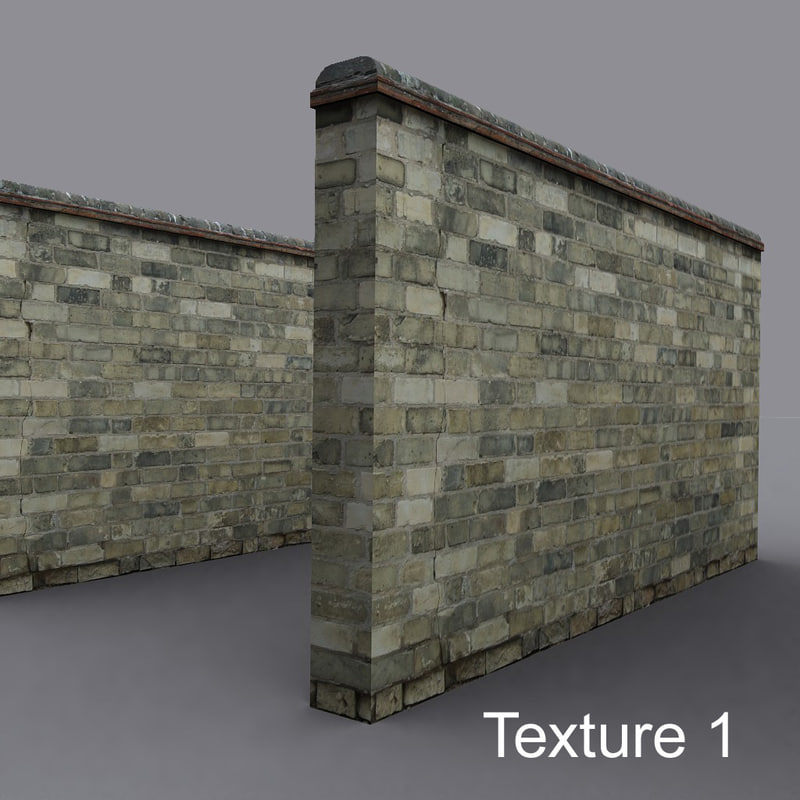 3d wall yellow brick