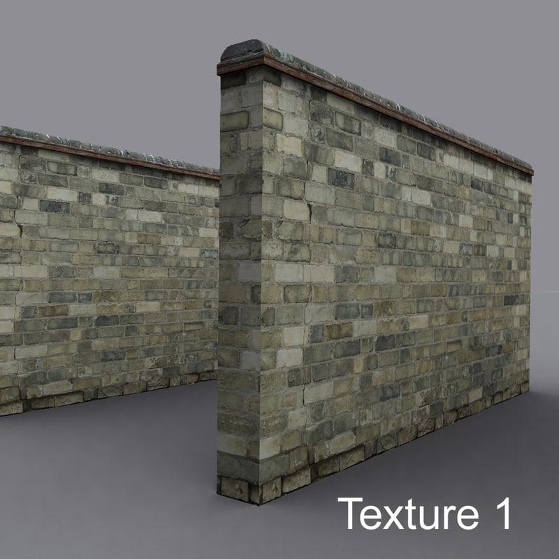 3d wall yellow brick