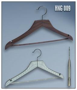 3d model clothes hanger