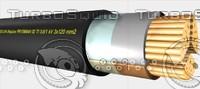 3d prysmian ti 3x120mm2 power model