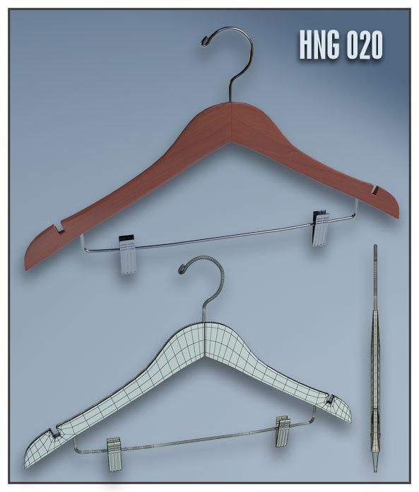 clothes hanger 3d model