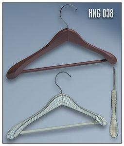 clothes hanger 3d 3ds