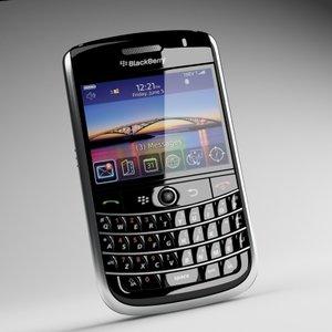 3d model blackberry tour 9630