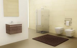 3ds max bathroom set 02