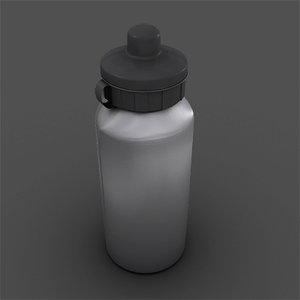 3d model sport bottle