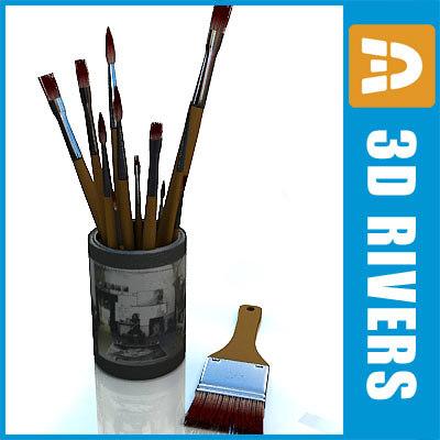 3d brushes artist