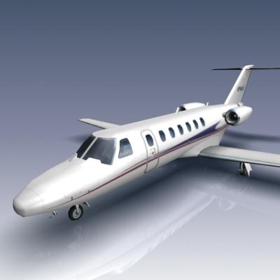 3d model citation cj3 jets