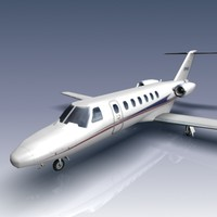 3d model citation cj3 jets