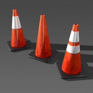 maya construction cones