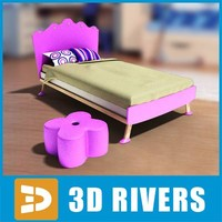 kid bed 3ds