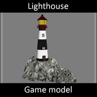 3ds max lighthouse - light