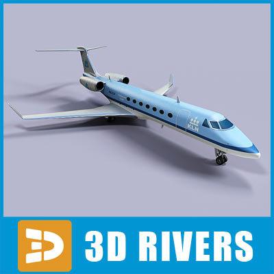 3d model gulfstream g500 jets