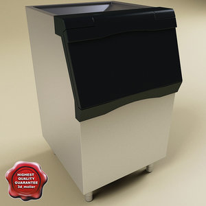 max scotsman ice maker bin