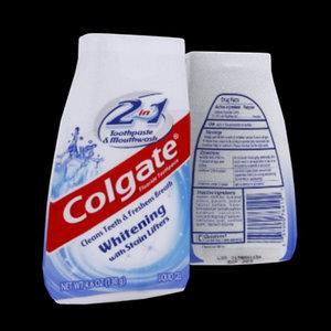 3d colgate toothpaste