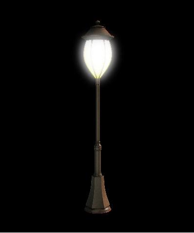 3d streetlight post model