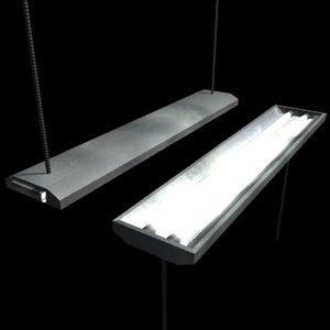 hanging light low-poly 3d model