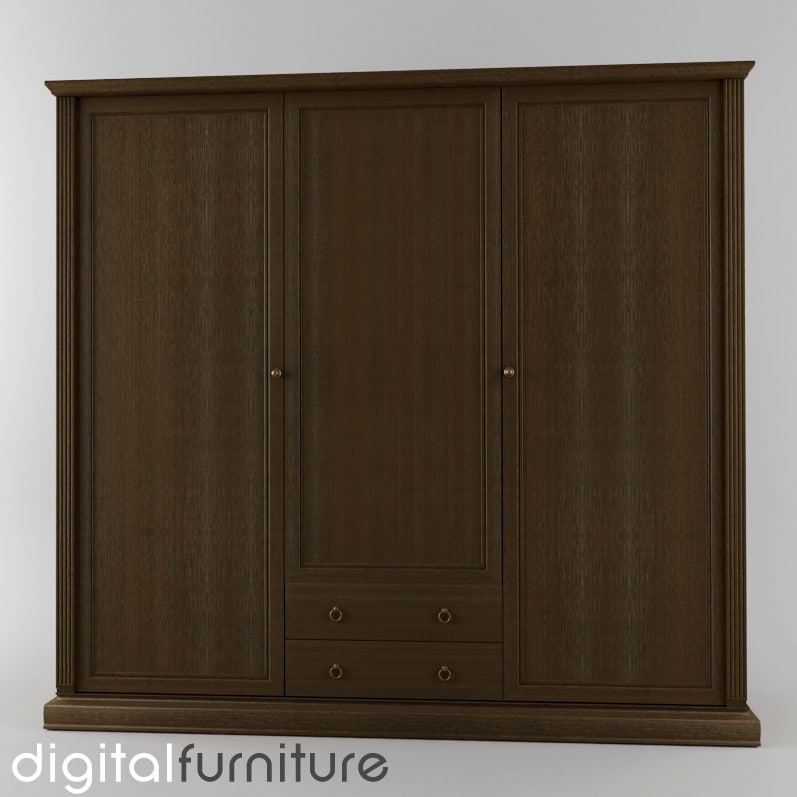 wardrobe digital 3ds