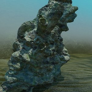 3ds max large coral
