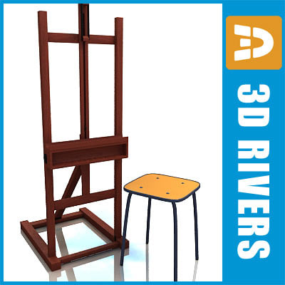 maya easel chair