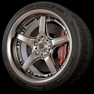 3d volk racing wheel rim tire