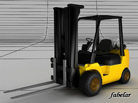 fork lift 3ds