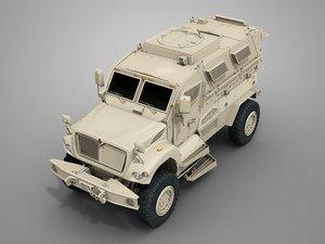 3d maxxpro mrap model