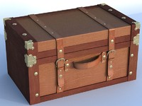 decorative trunk 3d max
