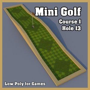 mini golf hole 3ds