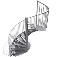 staircase 270 3d model