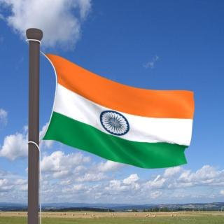 Real flag India