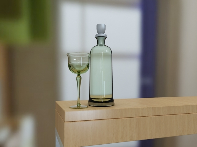 glass drop animation max