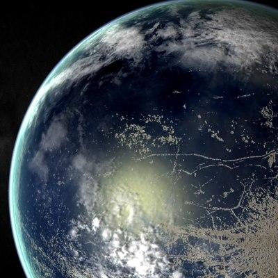 Terraformed Europa on terraformed ganymede, destiny mars map, terraformed europa moon,