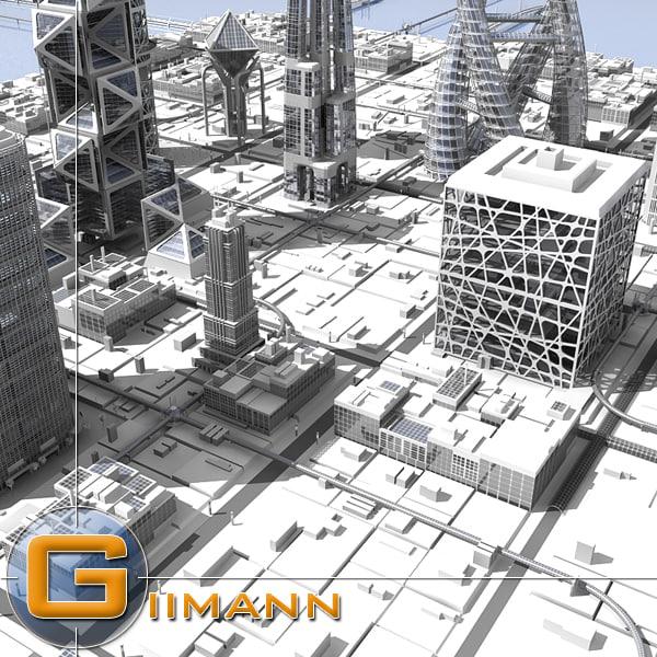 max cityscape buildings