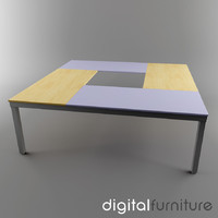 3dsmax conference table