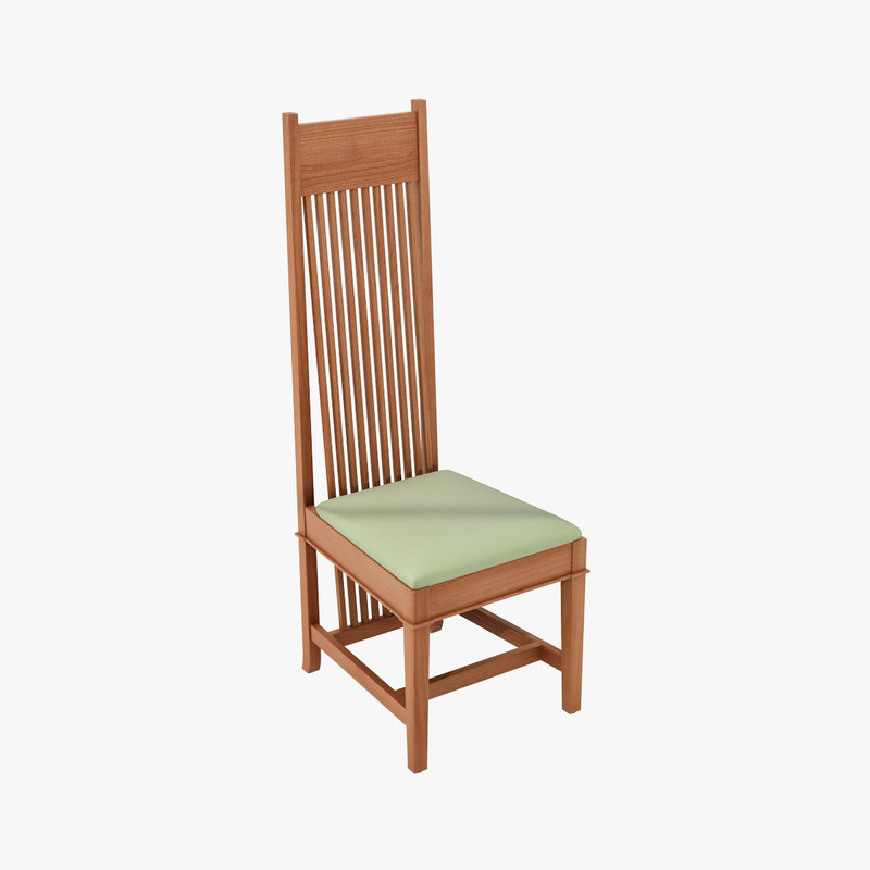 design dining dana chairs 3d model