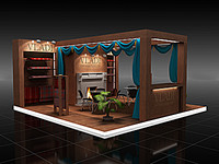 display booth 03 3d model