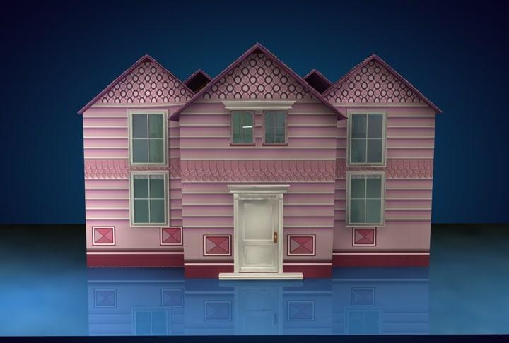 dollhouse house c4d