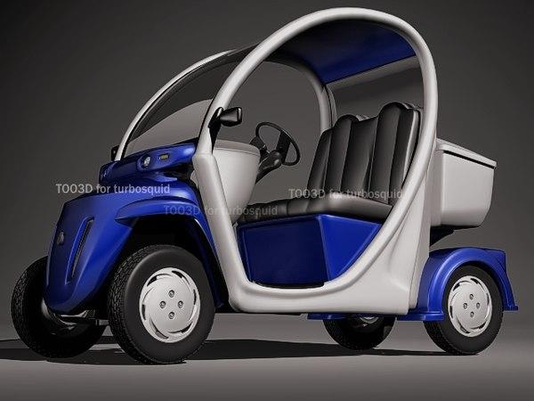 gem vehicle 3d max