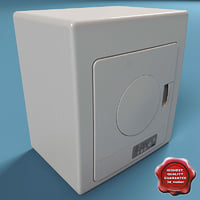 haier portable dryer 3d model