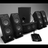 3dsmax logitech 5 1 speaker