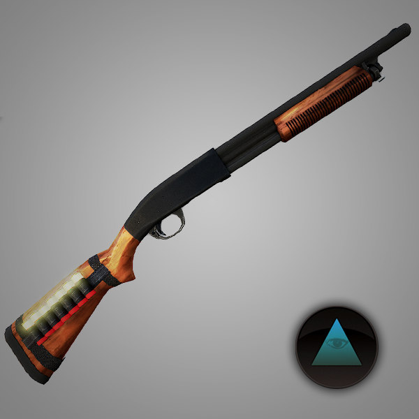3d m31 shotgun