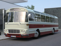 karosa sm11 sm 3d model