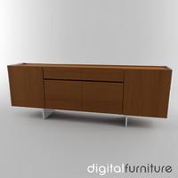 3d sideboard digital
