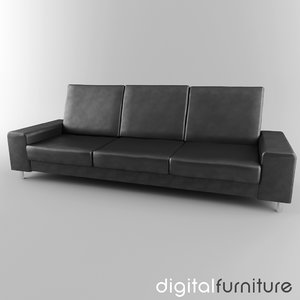 sofa digital 3d model