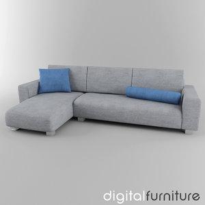 maya sofa digital