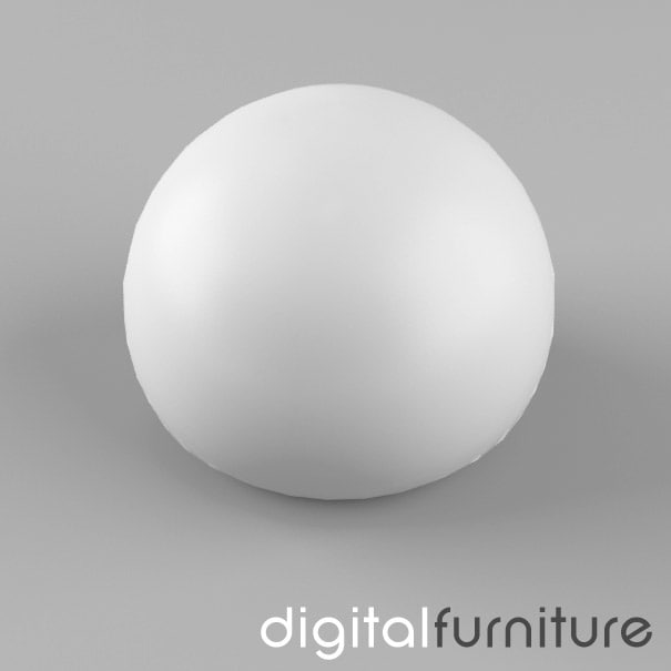 3d max table lamp