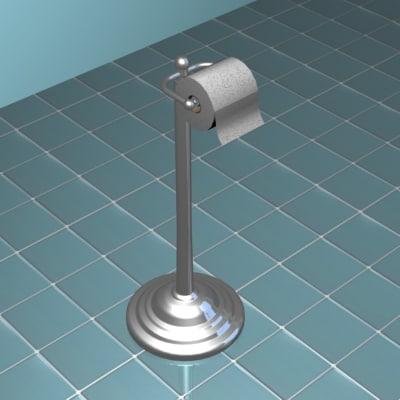 toilet paper dispenser 3d max