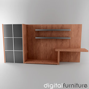 dxf wall digital