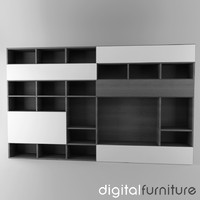 TV Furniture Wall System 24