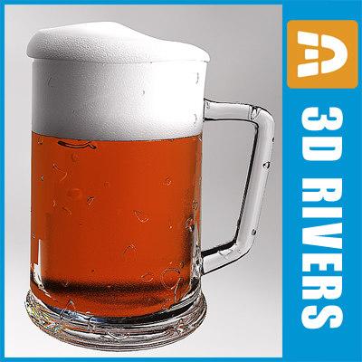 3d model beer mug